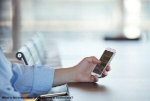 What is the importance of cell phones to businesses?